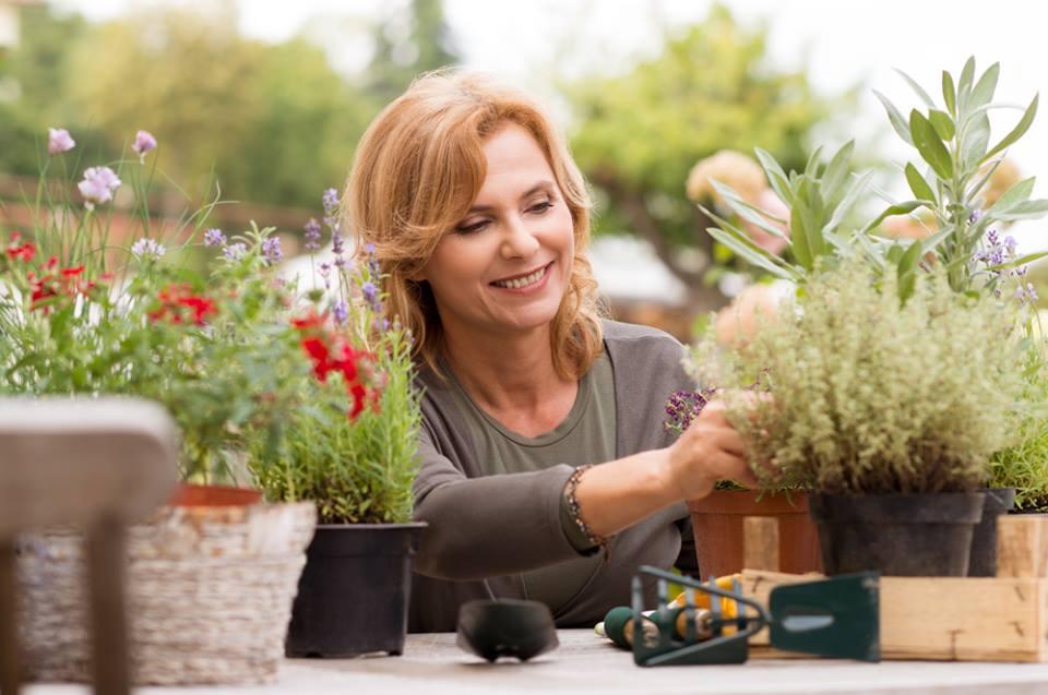 lady-planting-flowers