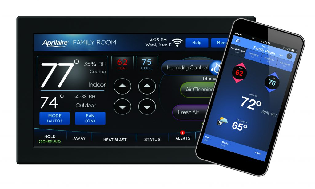 Photo of the Aprilaire 8920W Wi-Fi Thermostat