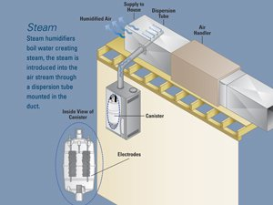 Whole Home Versus Room Humidifier. How An Aprilaire Whole Home Steam Humidifier Works. Wiring. York Dehumidifier Whole House Diagram At Scoala.co