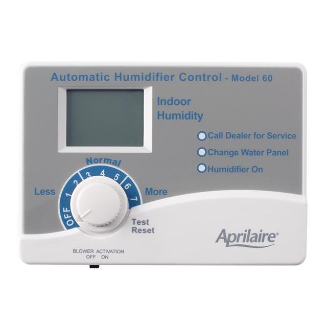 APRILAIRE #60 AUTOMATIC DIGITAL HUMIDIFIER CONTROL (REPLACES #58) MC264731