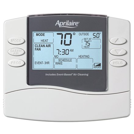 Aprilaire Model 8476 Thermostat with Event-Based Air Cleaning