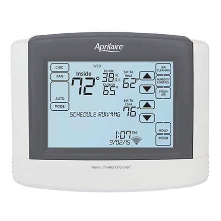 Touchscreen Wi-Fi Automation IAQ Thermostat