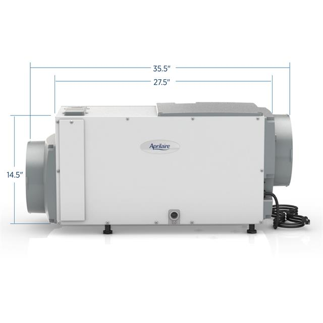 Dehumidifier-1850Dimensions
